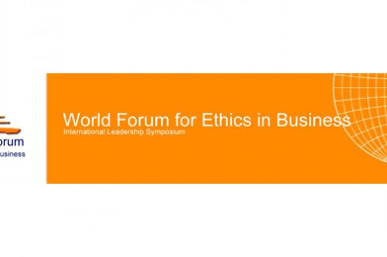 Retour sur le forum mondial pour l'éthique dans les affaires (+Videos)