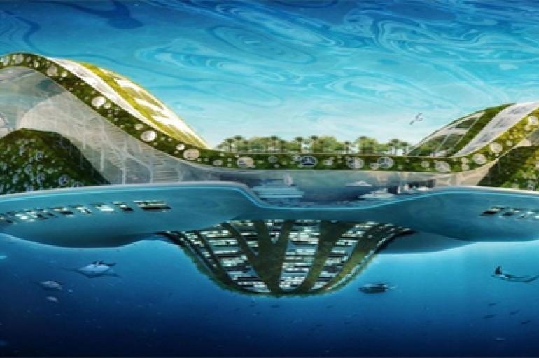 Architecte Vincent Callebaut : Le projet Lilypad pour garantir un habitat aux futurs réfugiés climatiques