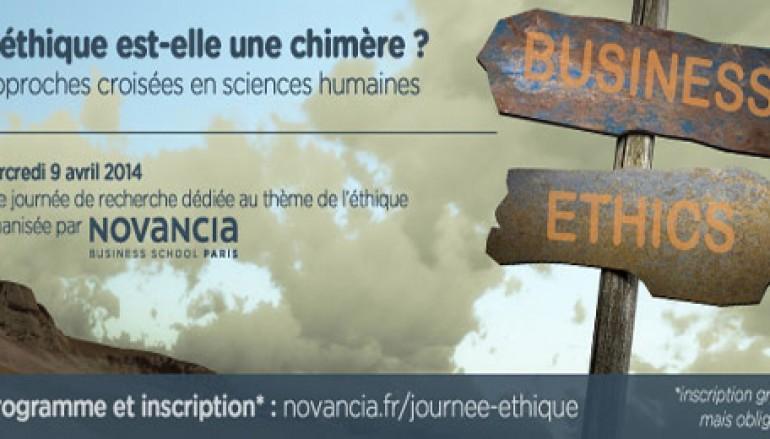« L'éthique est-elle une chimère – Approches croisées en sciences humaines » – Novancia Business School Paris