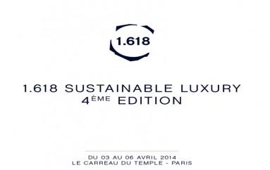 Retour sur le salon 1.618 Paris Sustainable Luxury: Pendant trois jours, le cœur du Haut-Marais a battu au rythme de la création, de l'innovation, de l'art et du développement durable