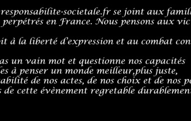 Nous sommes tous Charlie: Le droit à la liberté d'expression et au combat contre tout obscurentisme  et extremisme en France et dans le monde.