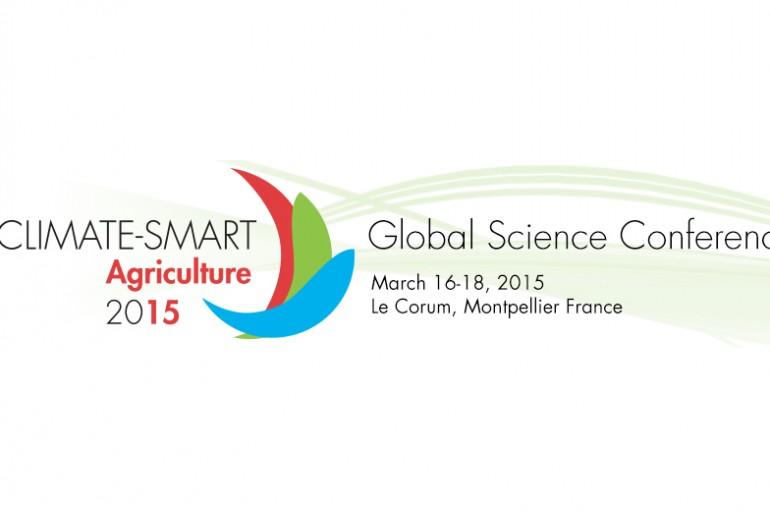 La Troisième Conférence Scientifique Mondiale sur l'Agriculture Climato-Intelligente – Montpellier 16 au 18 mars