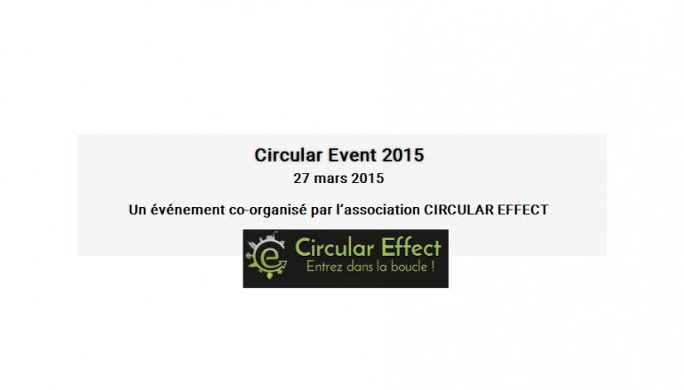 Circular Event 2015 – Cergy Pontoise le 27 mars 2015