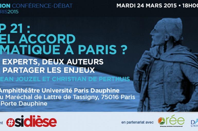 21ème Conférence des Parties de la Convention Cadre des Nations Unies sur les changements climatiques: QUEL ACCORD CLIMATIQUE À PARIS ?
