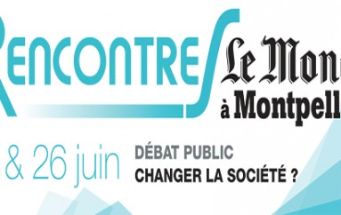 Les rencontres du Monde à Montpellier – le 25 et 26 juin