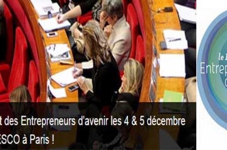 Le Parlement des Entrepreneurs d'avenir se tiendra les 4 & 5 décembre 2015 à l'UNESCO avec l'Université de la Terre