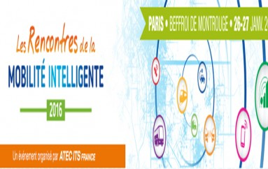 Les Rencontres de la Mobilité Intelligente – Paris le 26 et 27 janvier