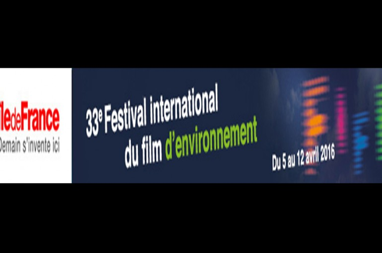 33eme Festival international du film d'environnement aura lieu – Paris du 5 au 12 avril