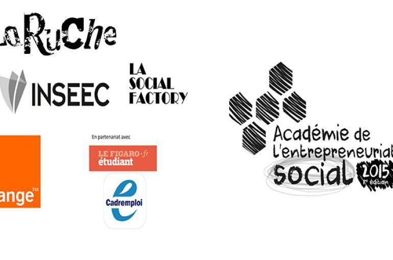 La soirée de l'Académie de l'Entrepreneuriat Social 8 projets à fort potentiel récompensés