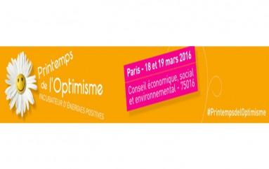 3ème édition du Printemps de l'Optimisme – Paris 18 et 19 mars