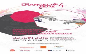 Forum Changer d'ere – Empowerment: partager le pouvoir à l'ère des réseaux sociaux – Paris 2 juin