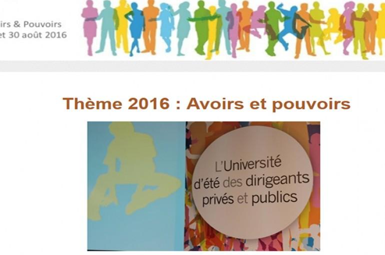 Université d'été TRANS-MUTATION 2016 – 29 et 30 aout Bruxelles
