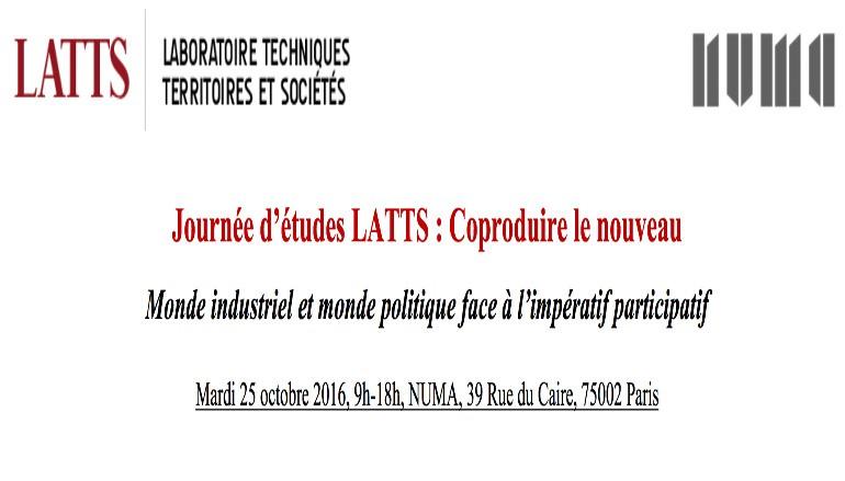 Retour sur le débat: Coproduire le nouveau: Monde industriel et monde politique face à l'impératif participatif